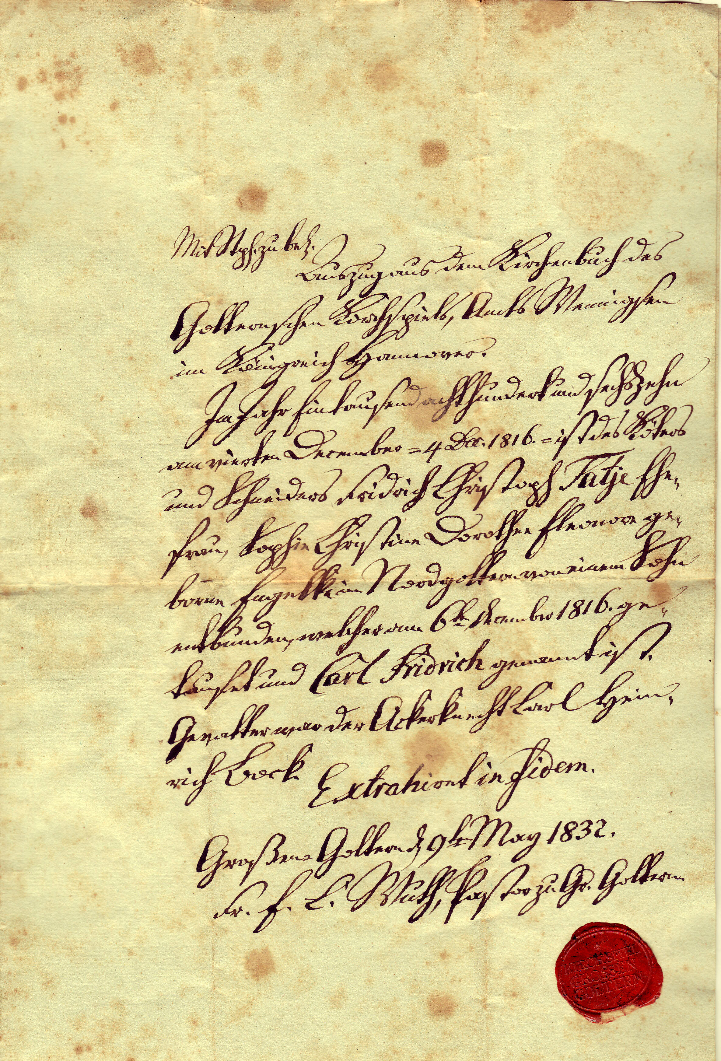 Reading German Scrift or Current Church Records